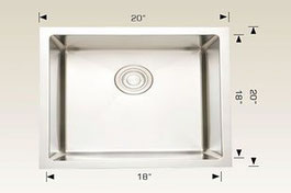208036 bosco undermount sink