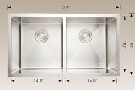 bosco  undermount kitchen sink 203318