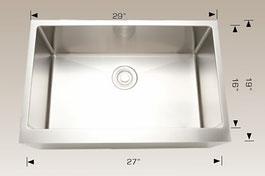bosco  undermount apron kitchen sink 203320