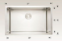 208004 bosco undermount sink