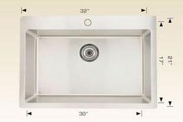 bosco drop in kitchen sink T208037