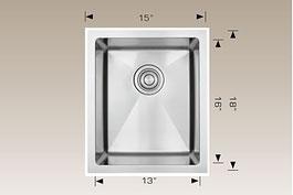 bosco  undermount kitchen sink 201713