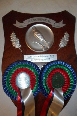 Beste Gesamtleistung auf der AZ Landesschau 2011 und 2012