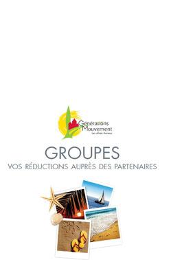 Réductions auprès de Partenaires nationaux pour les groupes