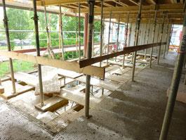 Absperrung Treppenloch, Treppenöffnung Seitenschutz