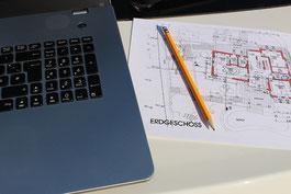 Pläne, Dokumente Bauvorhaben