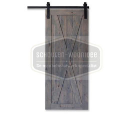 steigerhout loftdeur op maat bestellen