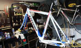 Bild: Werkstattbereich des Fahrradladens Fahrrad Mix in Baabe