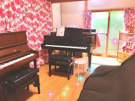 ピアノ教室風景