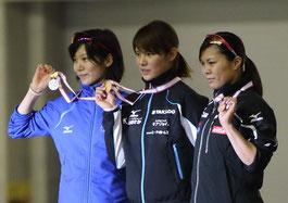 全日本スプリント(2015年)表彰台