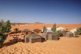 Wüstencamp Marokko Reise