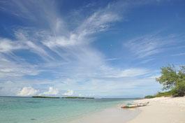 Strand auf einer Madagaskar Reise