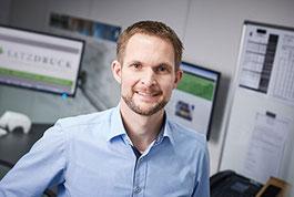 Nico Karel –Geschäftsführer Satzdruck GmbH