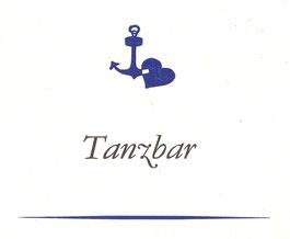 Ankerherz im Aushang der Hafenbar, 1982