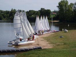 Centre de loisirs de Romorantin - Accueil des enfants pendant les vacances scolaires - Activité nautique vacances d'été
