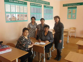 Башҡорт теле һәм әҙәбиәте кафедраһы уҡытыусылары