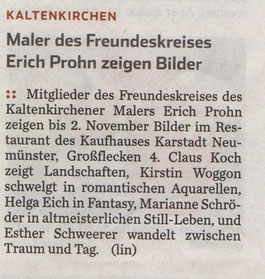 Hamburger Abendblatt 03.09.2015