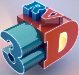 Visitenkarte 3D Riedus Visuality
