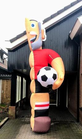 Halve Abraham Voetbal 4,5 m