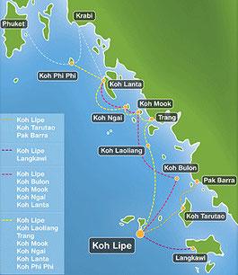 Carte Cote Ouest Thailande.D274 Thailande Cote Ouest Tailandia Por El Lado Oeste