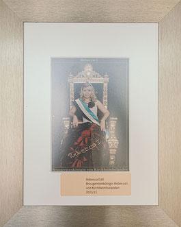 Braugerstenkönigin Rebecca I.