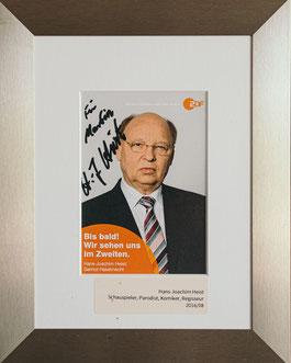 Parodist Hans-Joachim Heist