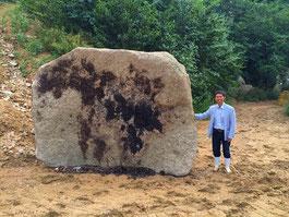絹谷幸太万成石巨大自然石