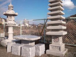 ガーデニングテーブルセット(桜)