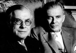 1962: Julian and Aldous Huxley