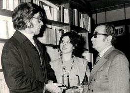1972: Francis, First wife Adriana and Ambassador Santa Cruz, father in law.