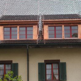 Strebel Holzbau Dachlukarne