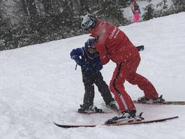 クラブメッド北海道・サホロ ミニクラブ スキーレッスン
