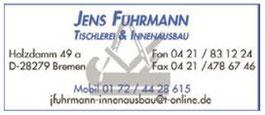 Tischlerei und Innenausbau Jens Fuhrmann - Werbegemeinschaft Habenhausen-Arsten