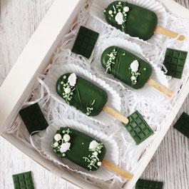 Grüne Cakesicles Box