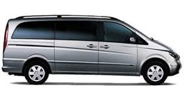 Mercedes Vito/Viano (1-8 pax)minivan airport transfers from heraklion cret