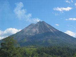 Parque Nacional Volcán Arenal y Lava 1968