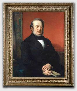 Le comte Ferdinand-Phillippe de Meeûs peints par Portaels