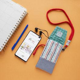 La funda de tela para mi móvil es de Mariposa Pititico