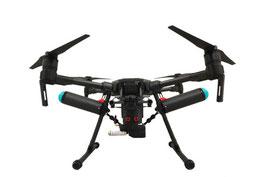 Le drone Matrice 210 homologué S1 S2 S3 de l'entreprise Novafly, spécialisée en topographie aérienne, orthophotos, suivi de chantiers en zone difficiles d'accès