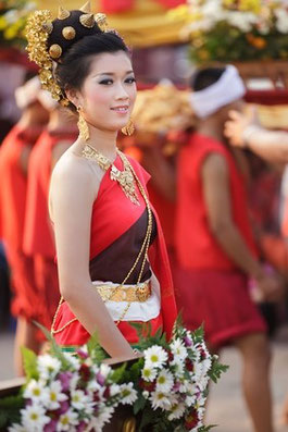 Tänzerin in Phayao