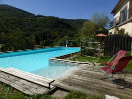 piscine au gite en Ariège