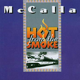 Front Cover - McCalla 'Hot From The Smoke'