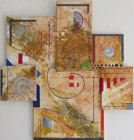 syncrétisme Daluz galego peinture abstraite abstraction