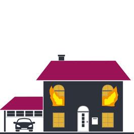 Brandschaden Notdienst