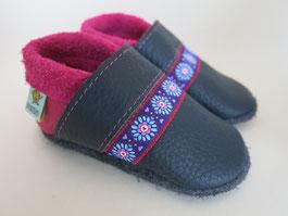 pink Lederschuhe Mädchenschuhe