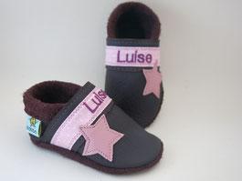 Schuhe mit Namen, Babyschuhe personalisiert, Taufschuhe,nach Maß, Baby mit breiten Füßen, schmalle Füße,