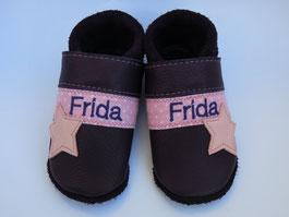 BIO-Leder Taufschuhe, Schuhe mit Namen, Krabbelschuhe personalisiert, Taufschuhe,nach Maß, breite Füße, schmalle Füße, Krabbelschuhe nach Maß,