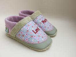 Schuhe für Mädchen mit Namen, Schuhe mit Namen, Krabbelschuhe personalisiert, Taufschuhe,nach Maß, breite Füße, schmalle Füße, Krabbelschuhe nach Maß,