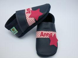 Schuhe mit Namen, Krabbelschuhe personalisiert, Taufschuhe,nach Maß, breite Füße, schmalle Füße,