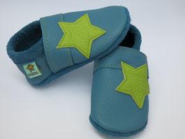 Sterne Lederschuhe Jungenschuhe
